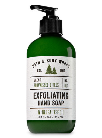 Snowkissed Citrus Exfoliating Hand Soap - Bath And Body Works