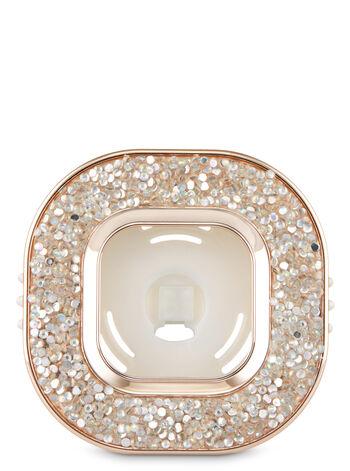 Glitter Square Vent Clip Car Fragrance Holder