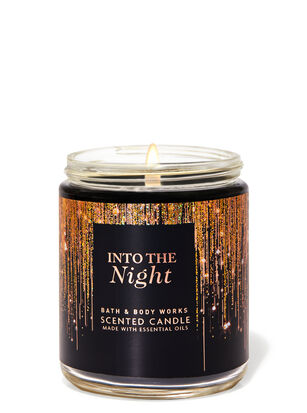 INTO THE NIGHT Single Wick Candle