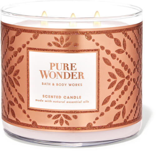 Pure Wonder 3-Wick Candle