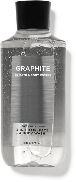 Graphite 3-in-1 Hair, Face & Body Wash