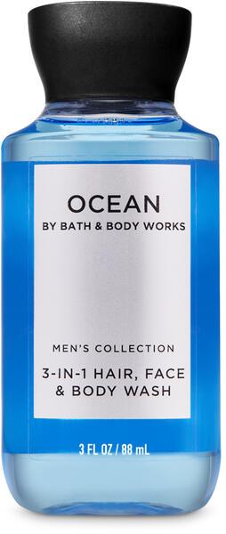 Ocean Travel Size 3-in-1 Hair, Face & Body Wash