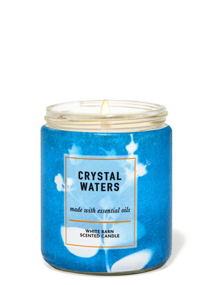 Crystal Waters Single Wick Candle