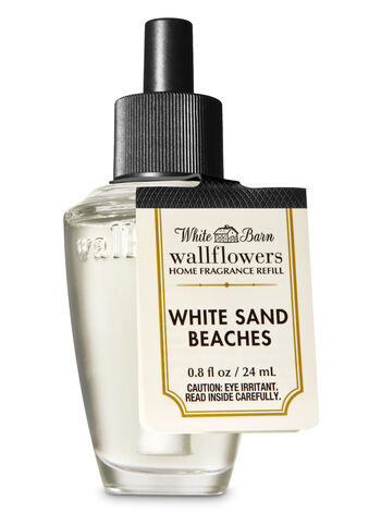 White Barn White Sand Beaches Wallflowers Fragrance Refill - Bath And Body Works