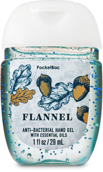 Flannel PocketBac Hand Sanitizer