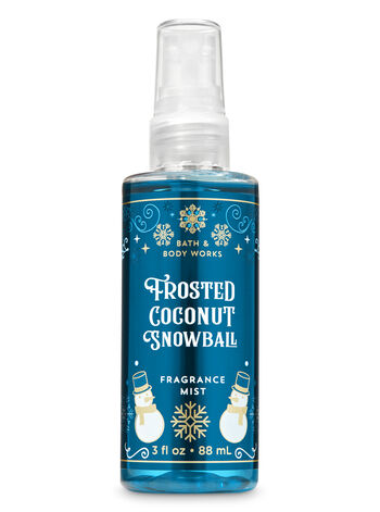 Frosted Coconut Snowball Travel Size Fine Fragrance Mist - Bath And Body Works