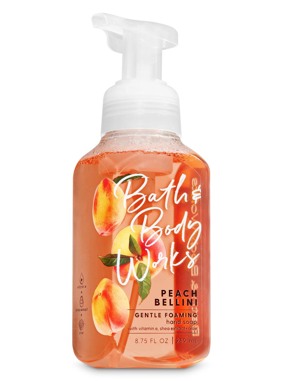 Peach Bellini Gentle Foaming Hand Soap Bath Body Works