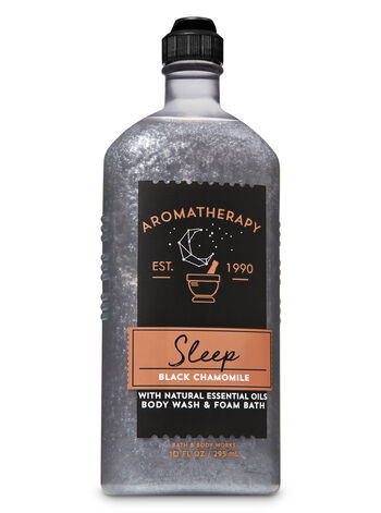 Aromatherapy Black Chamomile Body Wash & Foam Bath - Bath And Body Works