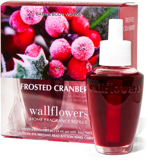 Frosted Cranberry Wallflowers Refills, 2-Pack