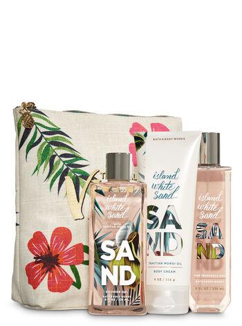 Island White Sand Tropical Vibes Gift Set