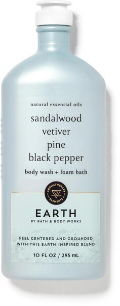Earth Body Wash and Foam Bath