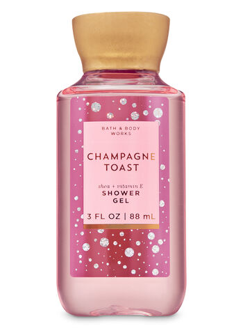 Champagne Toast Travel Size Shower Gel - Bath And Body Works