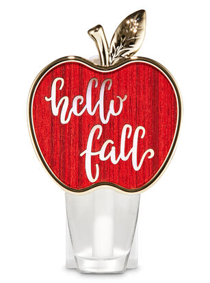 Hello Fall Apple Nightlight Wallflowers Fragrance Plug