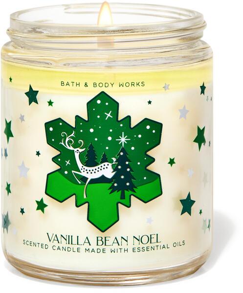 Vanilla Bean Noel Single Wick Candle