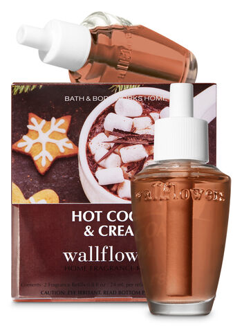 Hot Cocoa & Cream Wallflowers Refills, 2-Pack - Bath And Body Works