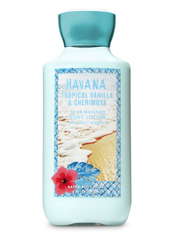 Signature Collection Tropical Vanilla & Cherimoya Super Smooth Body Lotion - Bath And Body Works