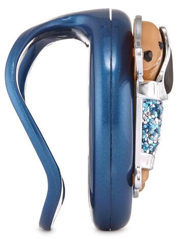 Dressy Dachshund Visor Clip Car Fragrance Holder