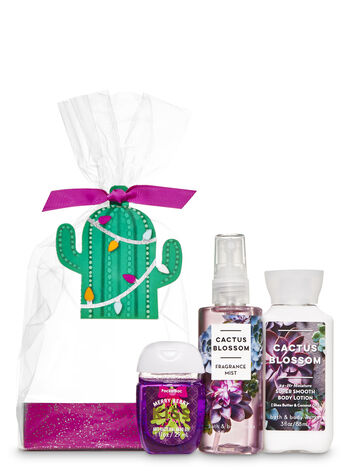 Cactus Blossom Christmas Cactus Mini Gift Set - Bath And Body Works