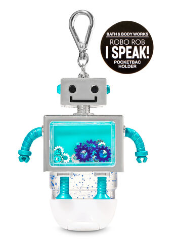 Noise-making Robo Rob PocketBac Holder - Bath And Body Works