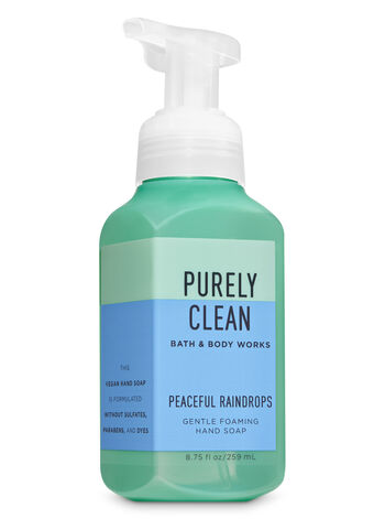 Peaceful Raindrops Gentle Foaming Hand Soap - Bath And Body Works