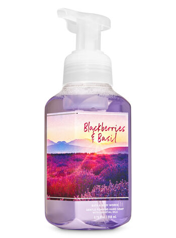 Blackberries & Basil Gentle Foaming Hand Soap - Bath And Body Works