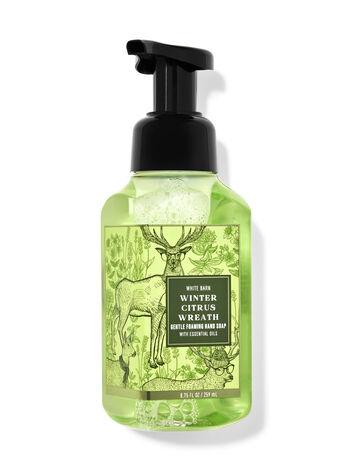 Winter Citrus Wreath Gentle Foaming Hand Soap