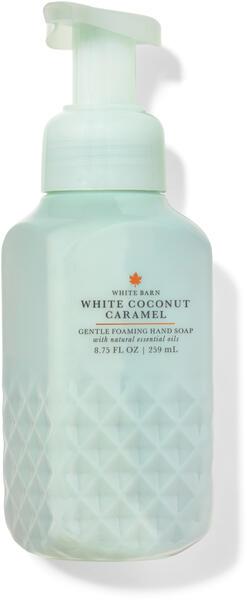 White Coconut Caramel Gentle Foaming Hand Soap