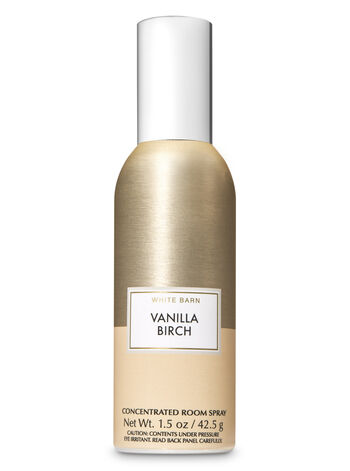 Vanilla Birch Concentrated Room Spray - Bath And Body Works