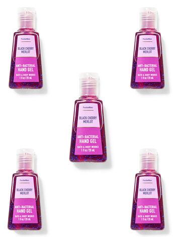 Black Cherry Merlot PocketBac Hand Sanitizer, 5-Pack