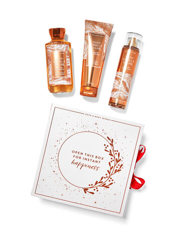 Warm Vanilla Sugar Gift Box Set