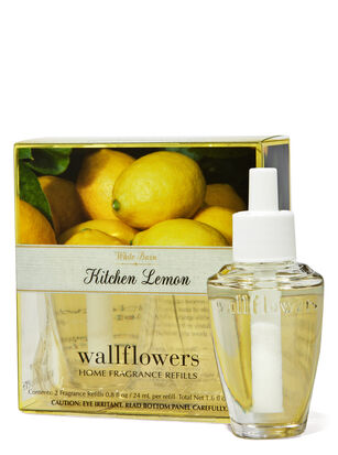 Kitchen Lemon Wallflowers Refills 2-Pack