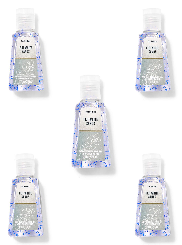 Fiji White Sands PocketBac Hand Sanitizers, 5-Pack