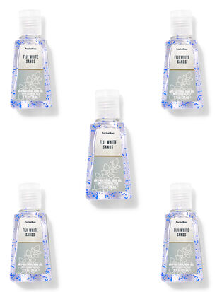 Fiji White Sands PocketBac Hand Sanitizers, 5-Pack