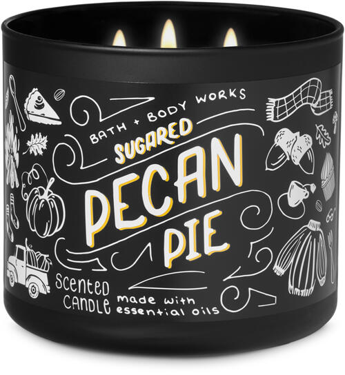 Sugared Pecan Pie 3-Wick Candle