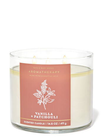 Vanilla Patchouli 3-Wick Candle