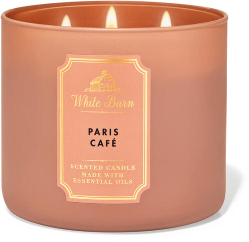 Paris Café 3-Wick Candle