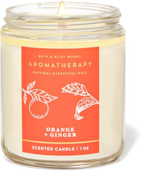 Orange Ginger Single Wick Candle