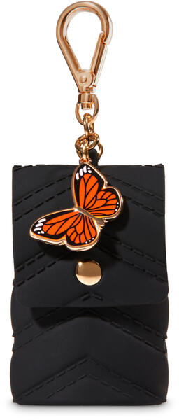 Purse with Butterfly Charm PocketBac Holder