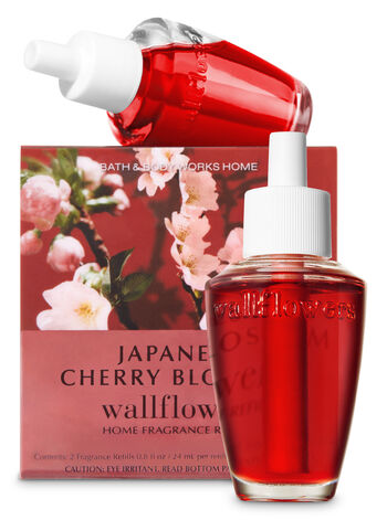 Japanese Cherry Blossom Wallflowers Refills, 2-Pack - Bath And Body Works