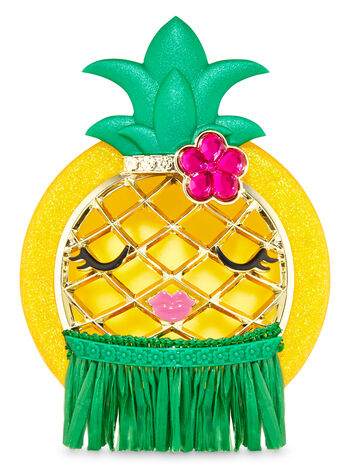 Hula Pineapple Visor Clip Car Fragrance Holder