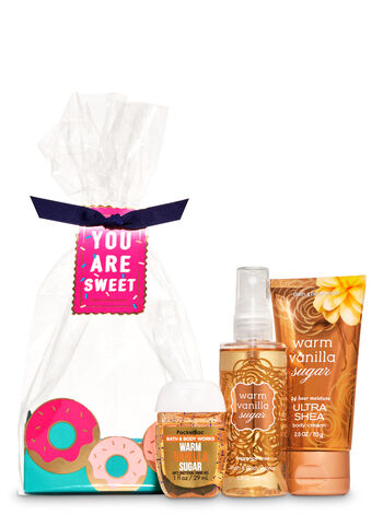 Warm Vanilla Sugar Mini Gift Set - Bath And Body Works