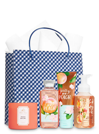 Just Peachy Ultimate Fragrance Fan Gift Kit - Bath And Body Works
