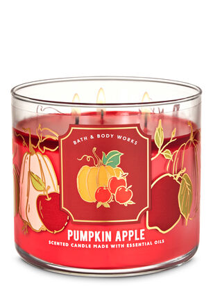 Pumpkin Apple 3-Wick Candle
