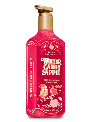 Winter Candy Apple Deep Cleansing Hand Soap - Bath And Body Works