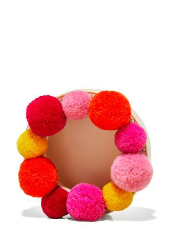 Pom Pom Visor Clip Car Fragrance Holder