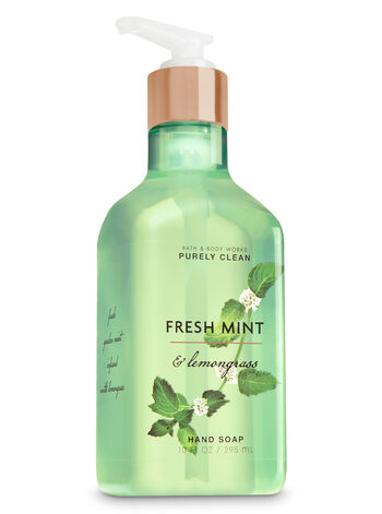 Fresh Mint & Lemongrass Purely Clean Hand Soap - Bath And Body Works