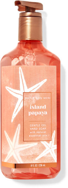 Island Papaya Gentle Gel Hand Soap