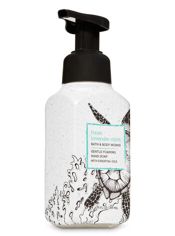 Fresh Lavender Mint Gentle Foaming Hand Soap - Bath And Body Works