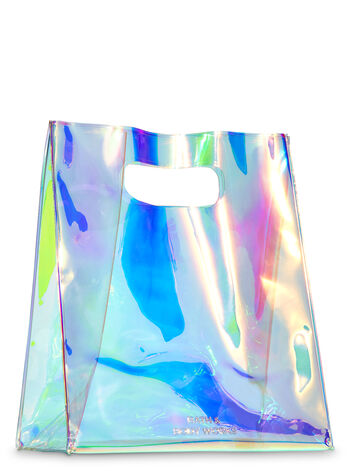 Blue Iridescent Gift Bag - Bath And Body Works