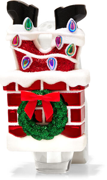 Santa in Chimney Wallflowers Fragrance Plug